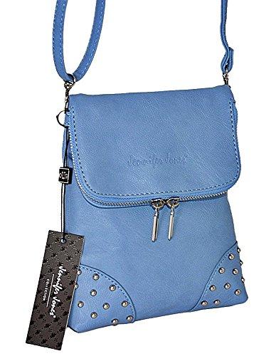 Cruzados Größe Mujer Jones Blue Borsa 19 Cm Donna 4 Jennifer Ca Per Para X Azul Crossa Bolso 21 q4HSE