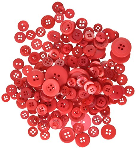 Buttons Ga BGMBCB.116 5.5 oz Red Hot Mix Galore Button Candy Bags