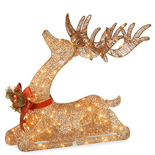 Lighted Outdoor Deer For Christmas Decorations in US - 5