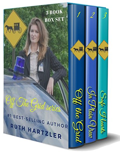 Amish Safe House: Amish Mystery Romance: 3 Book Box Set: 3 Book Box Set cover