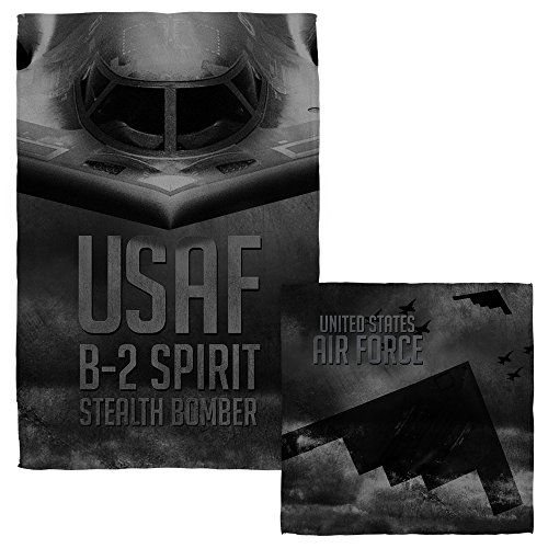 Air Force Stealth Face Hand Towel Combo White