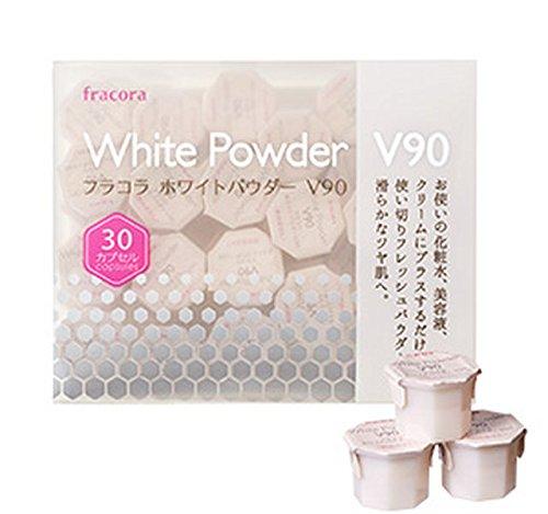 Fracora White Powder V90 Capsules for Skin Whitening NEW!! --From JAPAN--