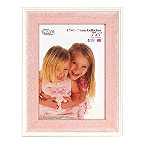 Inov8 British Made Picture/Photo Frame, 7X5 inch, Austen Pink Wash, Pack of 4