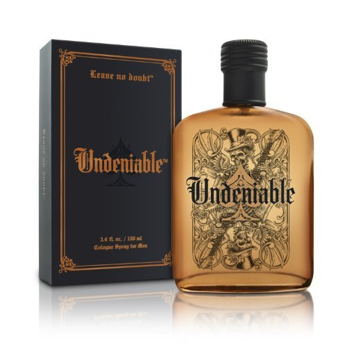 Price comparison product image Undeniable Cologne - Natural and Authentic Fragrance Spray Perfume for Men - Crisp and Fresh Masculine Scent - Fresh Rain Accord,  Basil,  Sage,  Cypress,  Suede,  Exotic Woods Accord - 3.4 oz