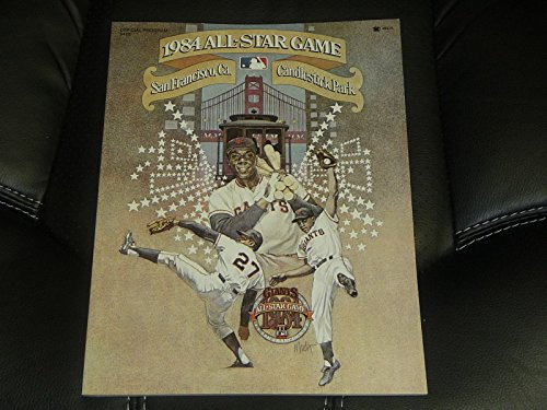VINTAGE 1984 BASEBALL ALL STAR GAME PROGRAM SAN FRANCISCO NEAR MINT UNSCORED 1984 Baseball All Star Game