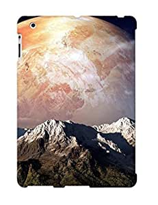 Defender Case For Ipad 2/3/4, Planet Beyond The Mountains Pattern, Nice Case For Lover's Gift