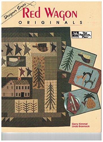 Red Wagon Originals - Applique Wagon