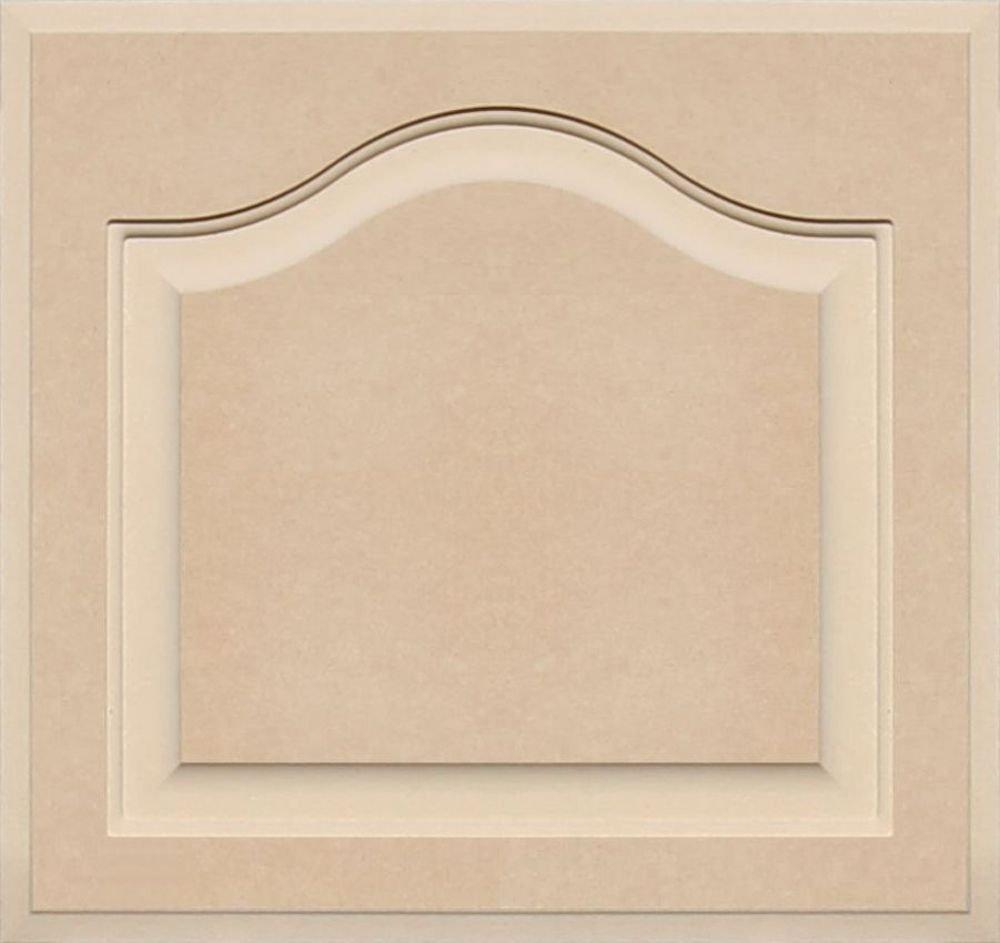 Unfinished Arch Top Cabinet Door in MDF by Kendor, 17 High x 18 Wide Kendor Wood Inc.