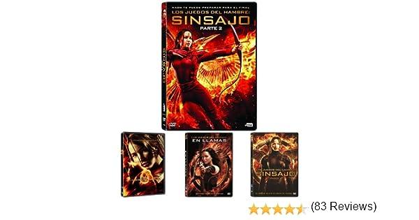 Los Juegos Del Hambre: Saga Completa [DVD]: Amazon.es: Cine y ...