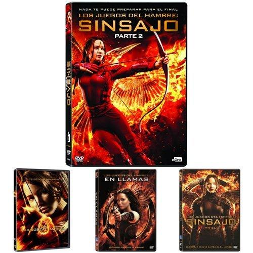 Los Juegos Del Hambre Saga Completa Dvd Amazon Es Cine Y Series Tv