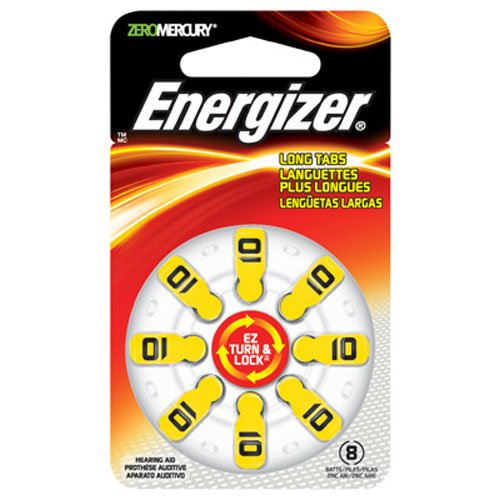 Energizer Turn Hearing Batteries 8 Count