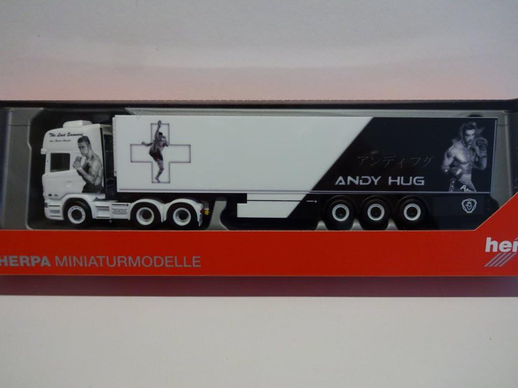 herpa 308519/Scania K/ühl-Auflieger Truck von Wartburg Modell Set