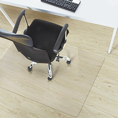office marshal chair mat for hard floors pvc 36 x 48 multiple sizes clear. Black Bedroom Furniture Sets. Home Design Ideas