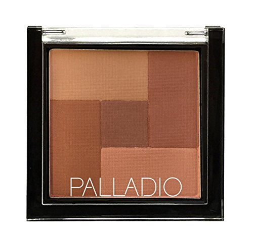 Mosaic Spice - Palladio 2-In-1 Mosaic Powder Blush & Bronzer, Spice