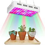 300W LED Grow Lights Lychee Higher Luminous Efficiency Full Spectrum with UV&IR Plant Growing Hanging Lamp for Indoor Greenhouse Garden Plants Vegetables Flowers.