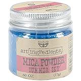 Finnabair Art Ingredients Mica Powder .6oz-Summer Sky