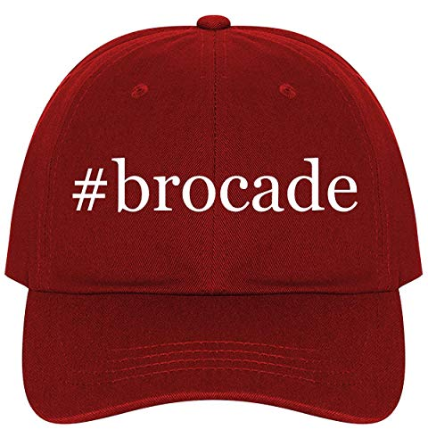 #Brocade - A Nice Comfortable Adjustable Hashtag Dad Hat Cap, Red, One Size
