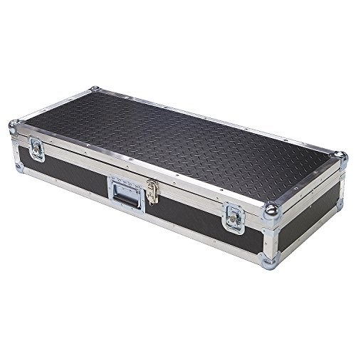 Keyboard 1/4 Ply ATA Light Duty Case with Diamond Plate Laminate Fits Roland Fp-4 Fp4 Fp 4 Digital Keyboard