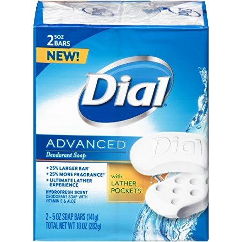Dial Advanced B07N4LQMVX Bar Soap Hydrofresh Ounce Scent 5 Ounce (Pack Bars 2 Count (Pack of 24) [並行輸入品] B07N4LQMVX, ソウリョウチョウ:15e4141e --- ijpba.info