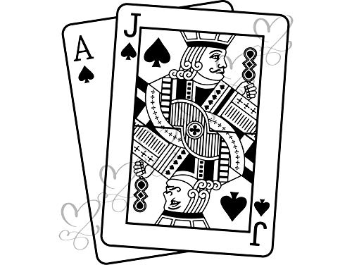 - Yetta Quiller Playing Card Poker Spades Playing Card Game Royal Flush Playing Casino Leisure Games Vector Clipart Digital Circuit Vinyl Cutting Sticker