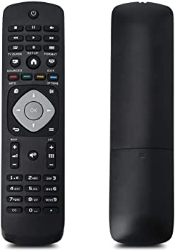 Mugast Reemplazo de Control Remoto Universal para Philips LCD LED Smart TV: Amazon.es: Electrónica