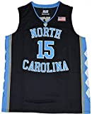 Men's North Carolina Tar Heels #15 Vince Carter College Basketball Jersey White Large