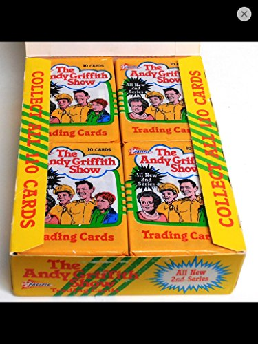 Pacific Memorabilia - Andy Griffith Trading Cards Unopened (4) Wax Pack Lot 1990 Non-sport Tv Series