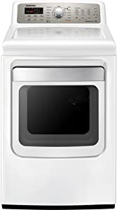 Samsung DV484ETHAWR7.4 Cu. Ft. Electric Front Load Dryer with NSF-Sanitize and 13 Drying Cycles, Neat White
