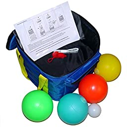 Playaboule Patented V3 DLX Lighted Bocce Ball Set