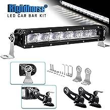 "LED Light Bar Kit Rigidhorse 12"" 106W Dual-Mode Light Bar LED Work Light Driving Light with Non-destructive Mounting Bracket for Sports Car SUV Jeep Pickup"
