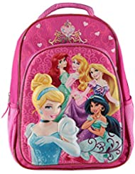 Disney Princess Molded 3d Pop-up Backpack 16in