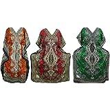 Mogul Wholesale 3 Pcs Of Lot Womens Caftan Beach Cover Up Kaftan Boho Maxi Dress