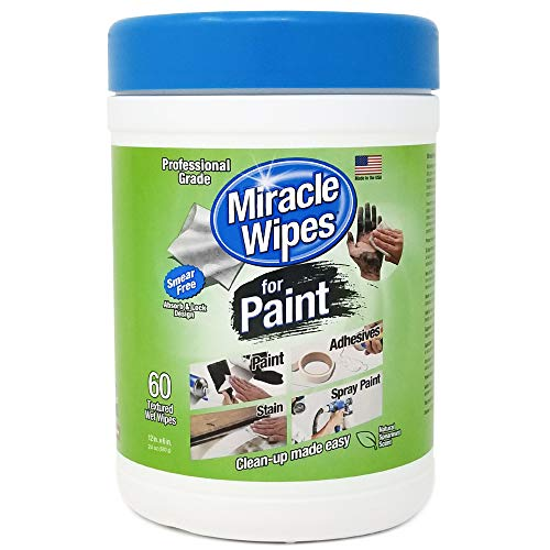 MiracleWipes for Paint Cleanup