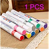 1 Pcs Fine Paint Oil Based Art Marker Pen Metal Glass Waterproof (Orange) by gzzhonghneg