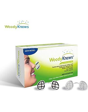 WoodyKnows Serie de Filtros Nasales Súper Defensa para Protección Antialérgica Causada por Polen/Polvo/
