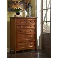 A-America WSLCB5600 Westlake 6 Drawer Chest, Cherry Brown Finish