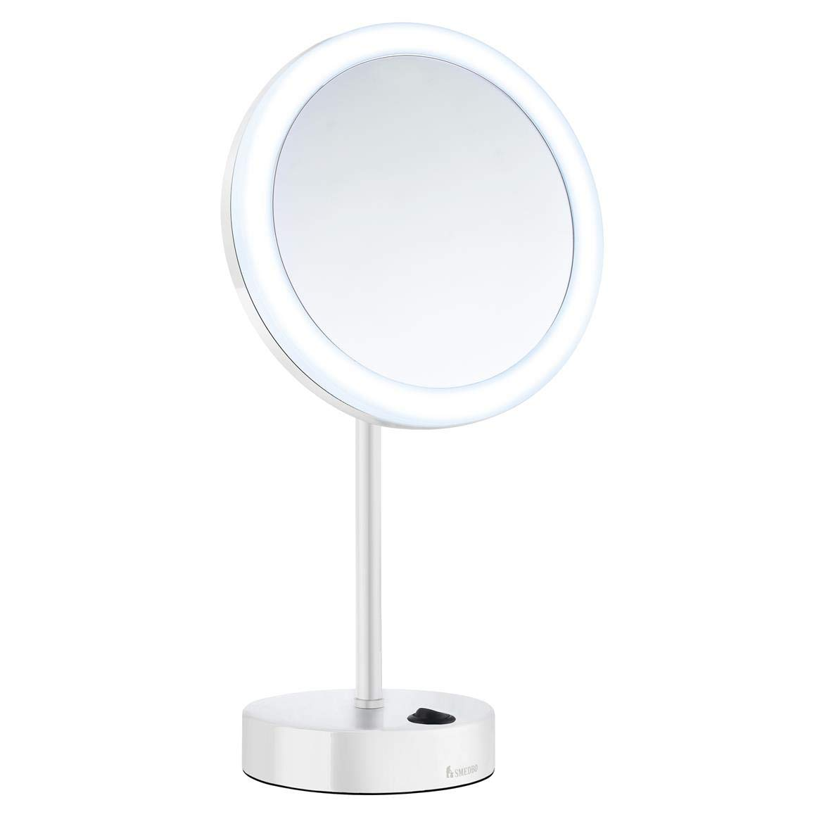 SMEDBO OUTLINE Kosmetikspiegel 5-fach Vergrößerung Dual Light LED LED LED Touch weiß FK484EW 9c6627