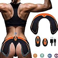 SHENGMI Hips Electrostimulateur Musculaire Hanches Trainer,Appareil de Fesse Intelligent,Electrostimulateur...