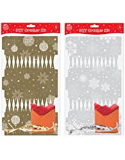 Make Your Own DIY Christmas Crackers Silver Or Gold to Personalise Xmas