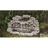 "Fiddlehead Fairy Garden ""Boulder Grotto"" Fountain With Pump #16907"