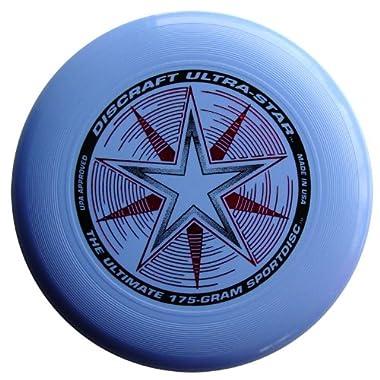 Discraft 175 gram Ultra Star Sport Disc, Light Blue