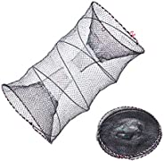 EASY BIG Portable Collapsible Crab Traps Foldable Crabbing Nets for Lobster Shrimp Carp Crayfish Crab Baits Ca
