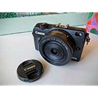 Canon EOS M2 Mark II 18.0 MP Digital Camera with EF-M 22MM f/2 STM Lens (Black) - International Version (No Warranty) At A Glance Review Image
