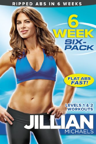 Exercise Products : Jillian Michaels: 6 Week Six-Pack