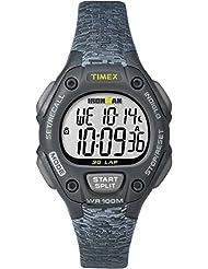 Timex Women's TW5M07700GP Ironman 30-Lap Mid Size Black Dial Wrist Watch