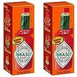 Tabasco Original Flavor Pepper Sauce 12 Fl oz (2 pack)