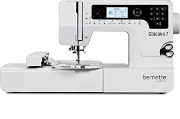Bernette Chicago 7 Sublime Computerized Sewing & Embroidery Machine