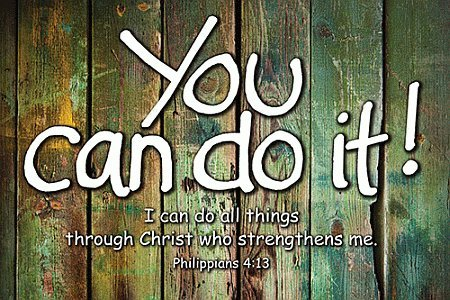 You Can Do it Poster - Religious & Inspirational Posters