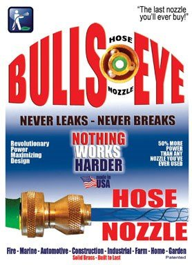 Bulls-Eye Hose Nozzle Full 2-Pack