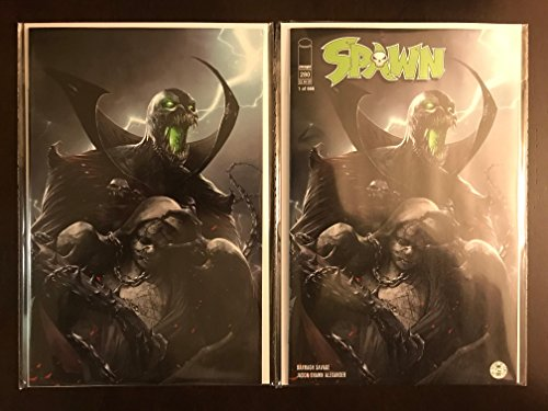 Spawn #280 2017 Mattina Variant Image Comic Book Exclusive Incentive Set Regular and Virgin Cover Limited to 666 Made NM Condition Incentive Variant Cover